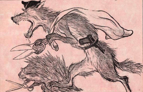 Наше прошлое в иллюстрациях «Крокодила»